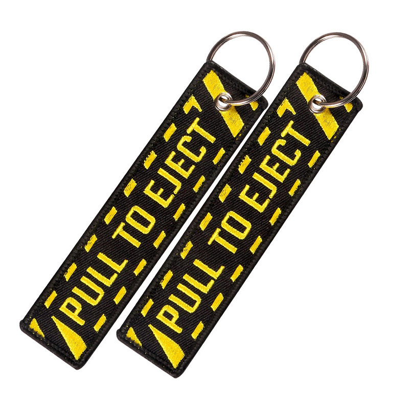 5 PCSLOT pull to eject keychain (4)