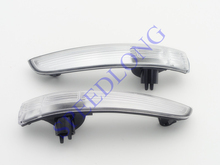 2 Pcs/Pair RH and LH Without Bulbs door mirror lights lamps for Ford Escape/Kuga 2013(China)