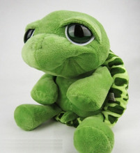 "Free shipping 1pcs 25cm=9.8"" super cute Big Eyes Turtle / Tortoise Plush Toys,NICI Plush Toys doll for kids gift"