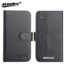 Ginzzu S5230 Case 2017 6 Colors Dedicated Flip Leather Exclusive 100% Special Phone Cover Cases Card Wallet+Tracking(China)
