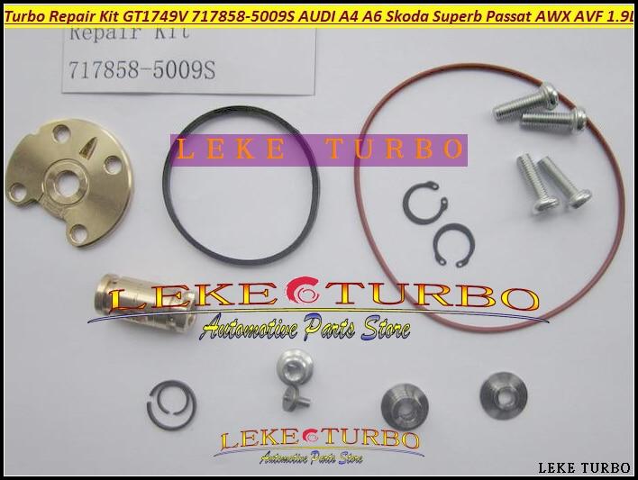 Turbo Repair Kit rebuild Kits GT1749V 717858  717858-0001 038145702N 038145702G 038145702J 038145702E AWX AVF BLB AVB BPW 1.9TDI<br>