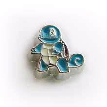 hot sale cartoon game characters 10pcs/lot Floating Charm Fit Living Floating Memory locket As Christmas Gift FC1138