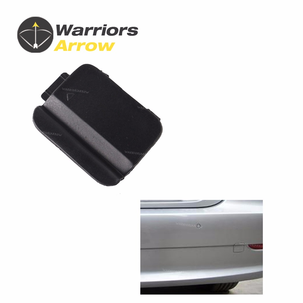 Rear Bumper Tow Hook Eye Cover Cap 51127178183 Fit for BMW 5 Series E60 2008-2010