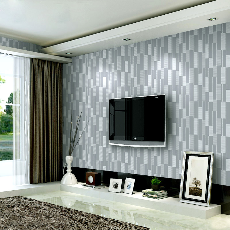 High-grade Simple Modern Fashion Leather Mosaic 3d Stereoscopic Wallpaper Living Room Sofa TV Background wall paper Roll Mural<br>