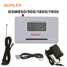 Fixed Gsm Phone Wireless Terminal Quad Module Making Call with Desktop Phone and Sim Card.