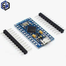 1pcs TENSTAR ROBOT With the bootloader New Pro Micro for arduino ATmega32U4 5V/16MHz Module mini Leonardo