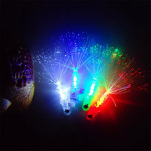Hot Sale 4pcs Plastic Toys Flashing Toys Finger Lights Ring Lamp Led Toys For Kids Gift