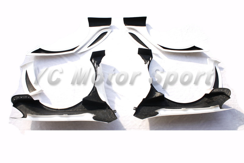 2009-2012 VW Golf IV&GTI&R20 Racing Style Wide Fender Kit 8pcs FRP (3)