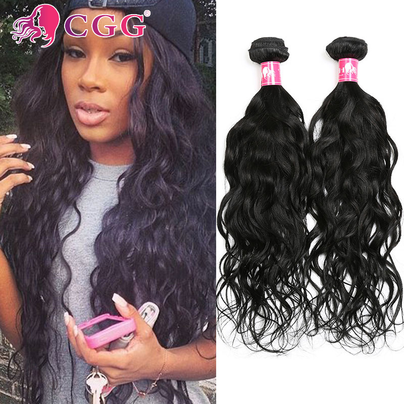 7A Brazilian Virgin Hair Natural Wave 3 Bundles Deal Wet And Wavy Virgin Brazilian Hair Weave Bundles Human Hair Weave No Shred<br><br>Aliexpress