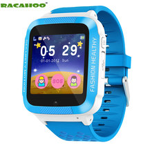 RACAHOO Children's Smart Watch Color Touch Watch 2G Remote Monitor Support SIM SD Card Alarm Clock Camera Tracker SOS Smartwatch(China)