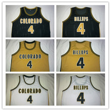 #4 CHAUNCEY BILLUPS Dolphins McDonald ALL AMERICAN high quality basketball jersey  Retro throwback Cheap menswear