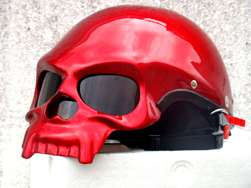 Free shipping Masei 419 Skull DOT Fiberglass Motorcycle Helmet Bike Open Face Helmets ,capacete<br><br>Aliexpress