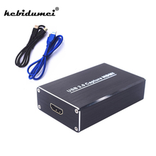 kebidumei Full HD USB3.0 1080P HDMI Video Capture Card Box standard for Windows/Linux/Mac HDMI Capture Dongle For USB UVC UAC(China)