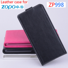 High Quality ZOPO 998 Leather Case Up Down Open Cover Case FOR ZOPO ZP998 Moblie Phone case in stock