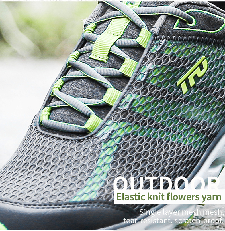 TFO Outdoor Running Shoes For Man Summer Light Weight Mesh Breathable Sneakers Lovers Outdoor Sport Shoes Lace-Up 851708 14