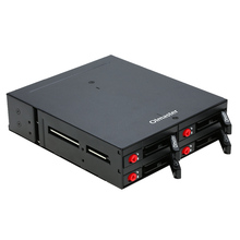4 Bays 2.5 inch SATA HDD SSD Hard Drive Mobile Rack Backplane with Key Lock Locker Function Support Hot-swap high 6Gbps