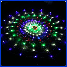 1set & 1.2m/1.5m LED Twinkle Lighting 120/150 LED xmas String Fairy Wedding Curtain background Outdoor Party Christmas Lights 22(China)