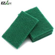 EZLIFE 0.9cm Diamond sand scouring pad detergent dish scouring pad Super clean decontamination #KT0896