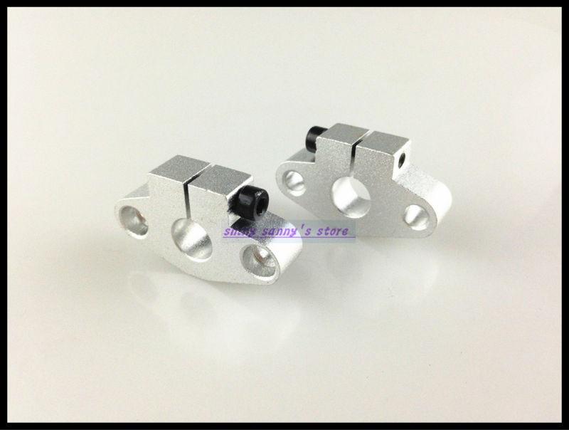 6Pcs/Lot Aluminum SHF8 8mm Linear Rod Rail Shaft Support Linear Motion CNC Route Brand New<br><br>Aliexpress