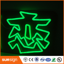 Wholesale outdoor advertising LED neon sign hair salon