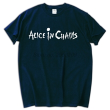 Alternative PopRock Grunge Heavy Metal t shirt brand Alice In Chains T-shirt men fashion tees