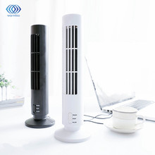 5V 2.5W Mini Portable USB Desk Fan Cooling Purifier Air Conditioner Tower Bladeless Home Office PC Computer Laptop