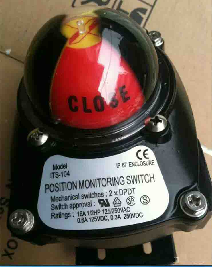 APL-210N, 1/2 NPT Position Indicator for Rotary Actuator, 2 SPDT Mechanical Limit Switches<br>