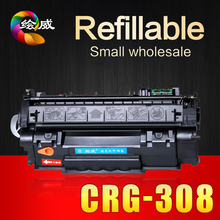 Buy HWDID CRG-308 CRG 108 308 508 708 compatible toner cartridge Canon LBP-3300 3330 3360 printers can refilled reuse for $26.68 in AliExpress store