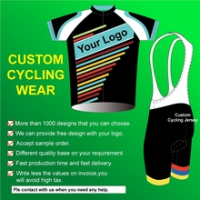 Accept custom service cycling wear uniforms,OEM men bike clothhing and custom cycling jersey with your design and logo.(China)