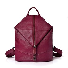 99c9519555 Women Backpacks Preppy Style Vintage Bagpack Large Capacity Solid Casual Daypack  Female Backpack Rucksacks for Girls mochilas