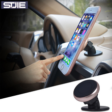 STJIE universal magnet holder plastic stand magnetic car holder telephone mobile phone cradle for iphone 5s 6 7 plus Samsung