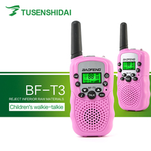 Universal Dual Adjustable Portable Multi Channel 2-Way LCD UHF Auto Radio Wireless Traveling Walkie Talkie BF-T3