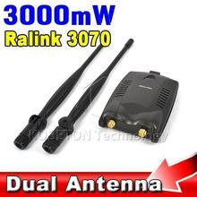 2016 Wireless Beini Free Internet Long Range 3000mW Dual Wifi Antenna Blueway USB Wifi Adapter Decoder Ralink 3070 BT-N9100