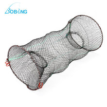 30cm X 60cm Foldable Crab Fish Crawdad Shrimp Minnow Fishing Bait Trap Cast Dip Net Cage Outdoor Fishing Tackle Tool Accessory