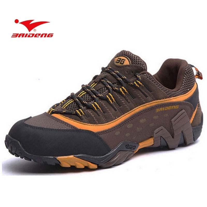 BAIDENG 2017 Designer Athletic Shoes Hiking Shoes Boots Men Women Outdoor Sports Mens Trekking Shoes Botas<br>
