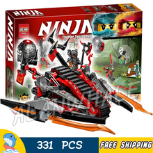 33Ninja New 10580 Vermillion Invader DIY Model Building Blocks Kids Toys Bricks Compatible lego - Baby Rhythm store