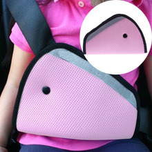 Breathable Child Neck Protection Positioner Triangle Baby Kid Car Safe Fit Seat Belt Adjuster Car Safety Belt Adjust Device