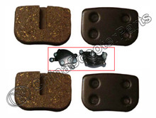 2 Pairs Brake Pad Pairs 47CC 49CC Mini Moto Dirt Pit Pocket Bike Gas Scooter ATV Quad Go Kart Parts(China)