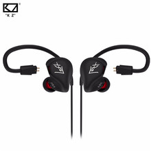 Brand New Original KZ ZS3 In Ear Earphone Stereo Running Sport Earphone 3.5mm Noise Cancelling HIFI Earbuds With Mic/ No Mic