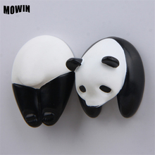 MOWIN Funny Gadgets Panda Figures Resin Refrigerator Stickers Magnets Toy Deco Cute Animal Moqdel Pet Shop Kids Magnetic Stiker