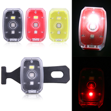 Rechargeable COB LED USB Mountain Bike Tail Light Taillight MTB Safety Warning Bicycle Rear Light Bicycle Lamp