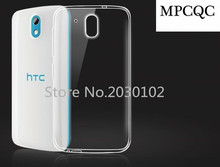 MPCQC Mobile Phone Case For HTC Desire 526 526G Ultra-thin Transparent Soft TPU Case For HTC Desire 526 526G Phone Back Cover(China)