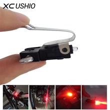 1Pc Mini Travel CR1025 Battery Wheel Spokes Bike brake Light mountain bicycle Led light Limited Real Cycling Accessories(China)