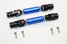 THUNDER TIGER KAISER XS STEEL+ALUMINIUM FRONT & REAR MAIN DRIVE SHAFT (68MM-78MM) - 2PCS SET KXS237SA