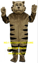 Ferocious cat mascot costume adult size cartoon tiger theme anime cosplay costumes carnival fancy dress kits 2701