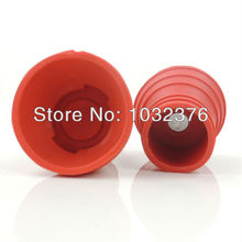 Free Shipping! Red Golf Ball Pickup Pick Up Picker Retriever Grabber Suction Cup For Putter