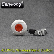 433MHZ Wireless Waterproof SOS button, Panic button, One key alarm, For G90B / Wifi / KERUI GSM Alarm System