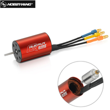 1pcs HobbyWing QuicRun 2435 4500KV brushless motor car motor for 1:18 1:16 On or Off-road Truck Monster rc car buggy