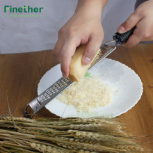 Finether Grater and Zester vegetable shredder Sharp Coarse potato peeler Stainless Steel kitchen utensils gadgets