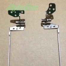 "Aipinchun Laptop LCD Hinges For Toshiba Satellite C850 C850D C855 C855D L850 15.6"" Hinges Rails Set Frame bracket L+R(China)"